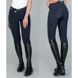 Pantaloni da donna Clio in tessuto tecnico elasticizzato con grip Equestro