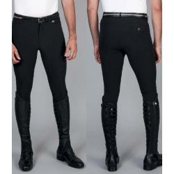 Pantaloni per equitazione da uomo Chariton in tessuto tecnico a vita bassa Equestro