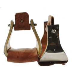 OAK WOOD BELL STIRRUPS