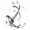 Briglia inglese Equestro modello Jubilee in cuoio italiano