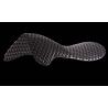 ACAVALLO RESPIRA AIR-RELEASE SOFT GEL PAD & FRONT RISER BLACK