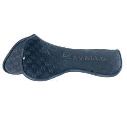 ACAVALLO WITHERS FREE CLOSE CONTACT & MEMORY FOAM HALF PAD SILICON GRIP SYSTEM