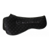 ACAVALLO WITHERS FREE & MEMORY FOAM HALF PAD SILICON GRIP SYSTEM – DRESSAGE
