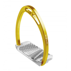 Staffe da equitazione Equìtaly Plus Back Spin con panca arretrata