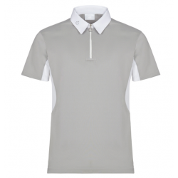 CAVALLERIA TOSCANA TECH PIQUET S/S COMPETITION POLO W/MESH INSERTS