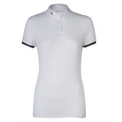 POLO DONNA CAVALLERIA TOSCANA 3 STRIPE COMPETITION